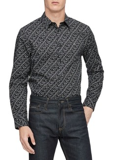 Calvin Klein Slim-Fit Floral Shirt