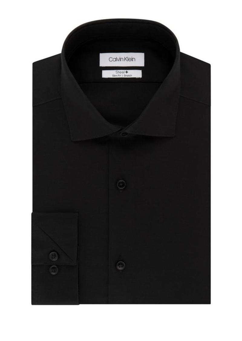 Calvin Klein Slim-Fit Non-Iron Stretch Dress Shirt