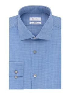 Calvin Klein Slim-Fit Textured Dress Shirt