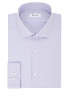 Calvin Klein Slim-Fit Textured Dress Shirt