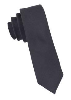 Calvin Klein Slim Fit X Liquid Luxe Solid Silk-Blend Tie