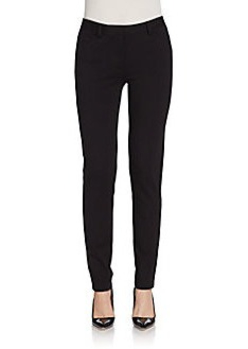 Calvin Klein Slim Stretch-Ponte Pants