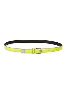 Calvin Klein Slim Western Leather Belt