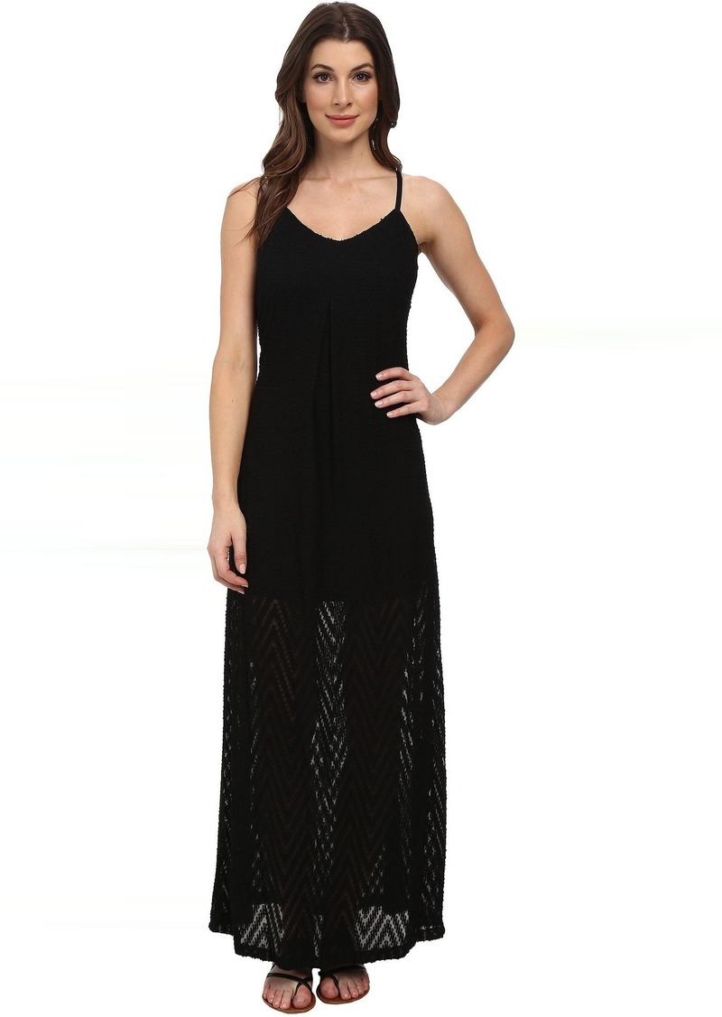 Calvin Klein Slip Strap Maxi Dress