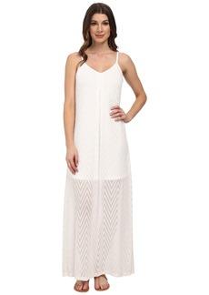 Calvin Klein Slip Strap Maxi Dress