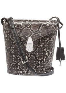 Calvin Klein Snake Lock Bucket Bag