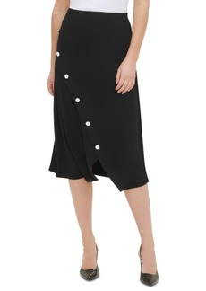 Calvin Klein Snap-Button Skirt