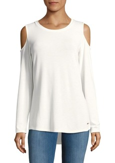 Calvin Klein Soft Cold Shoulder Top