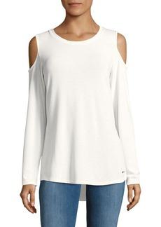 Calvin Klein Soft Cold Shoulder Top