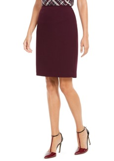 Calvin Klein Soft Crepe Pencil Skirt