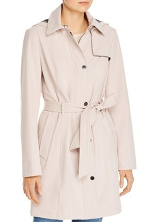 Calvin Klein Soft-Shell Mid-Length Coat