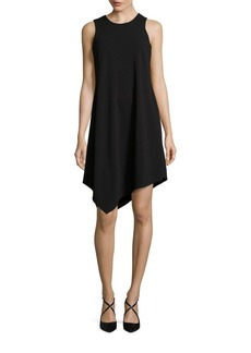 Calvin Klein Solid Asymmetric Dress
