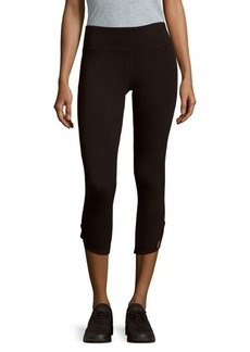 Calvin Klein Solid Banded-Waist Leggings