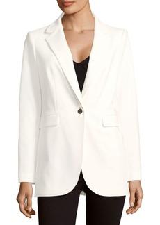 Calvin Klein Solid Button-Front Jacket