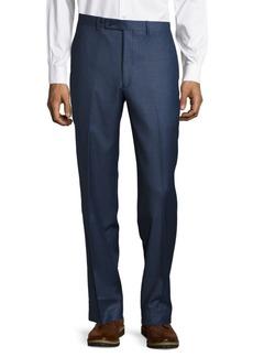 Calvin Klein Solid Classic-Fit Suit Separate Pants