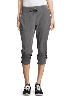 Calvin Klein Solid Drawstring Pants