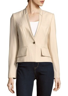 Calvin Klein Solid Layered Jacket