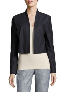Calvin Klein Solid Open-Front Jacket
