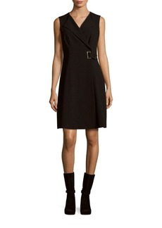 Calvin Klein Solid Sleeveless Dress