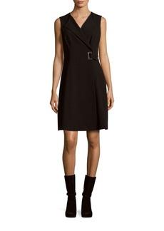 Calvin Klein Solid Sleeveless Dress