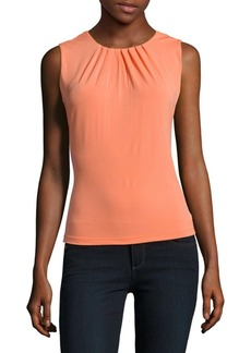 Calvin Klein Solid Sleeveless Top