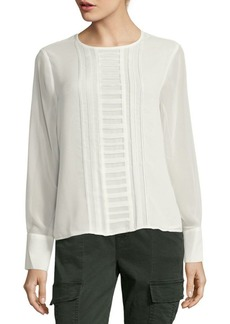 Calvin Klein Solid Textured Top