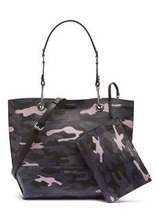 Calvin Klein Sonoma Reversible Novelty North/South Tote Bag miami Camo Print