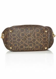 Calvin Klein Sonoma Signature Key Item Belt Bag Brown/khaki/luggage saffiano