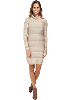 Calvin Klein Space Dyed Mock Neck Sweater Dress