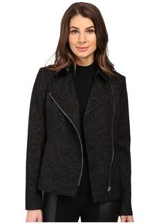 Calvin Klein Spackled Compression Moto Jacket