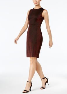 Calvin Klein Sparkle Sheath Dress, A Macy's Exclusive Style