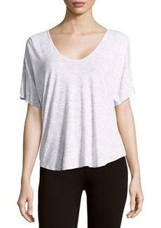 Speckled Textured Top