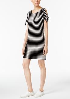 Calvin Klein Split-Sleeve T-Shirt Dress