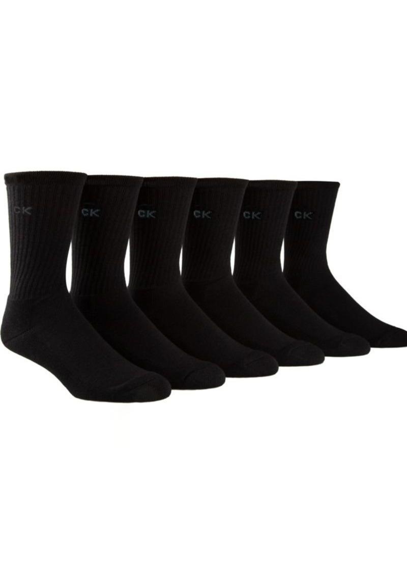 Calvin Klein Sport Crew Socks Set of Six