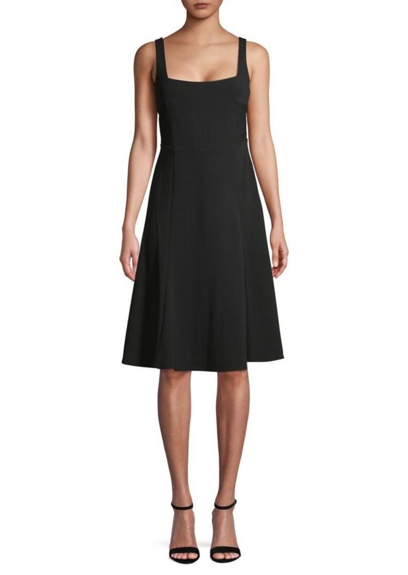 Calvin Klein Squareneck A-Line Dress