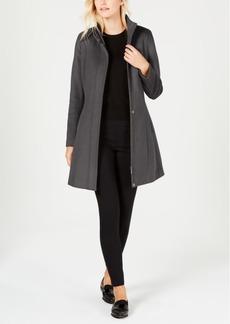 Calvin Klein Stand-Collar Walker Coat