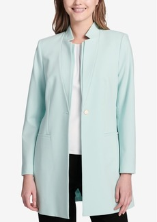 Calvin Klein Star-Collar Topper Jacket