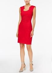 Calvin Klein Starburst Ponte-Knit Sheath Dress
