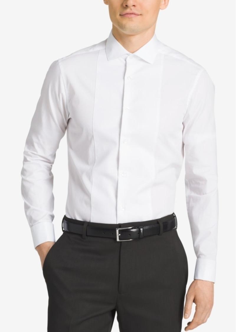 c6b742634c Calvin Klein White Slim Fit French Cuff Dress Shirt