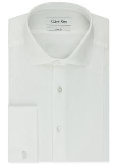 Calvin Klein Steel Men's Slim-Fit French Cuff Tuxedo Shirt