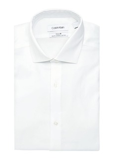 Calvin Klein Steel Slim-Fit Non-Iron French-Cuff Dress Shirt