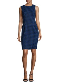 Calvin Klein Stencil Print Sheath Dress