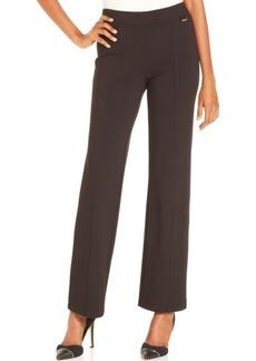 Calvin Klein Straight-Leg Compression Pants