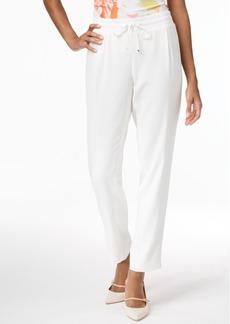 Calvin Klein Straight-Leg Soft Pants