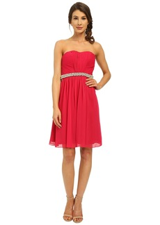 Calvin Klein Strapless Dress with Beading at Waist CD6B1V7E