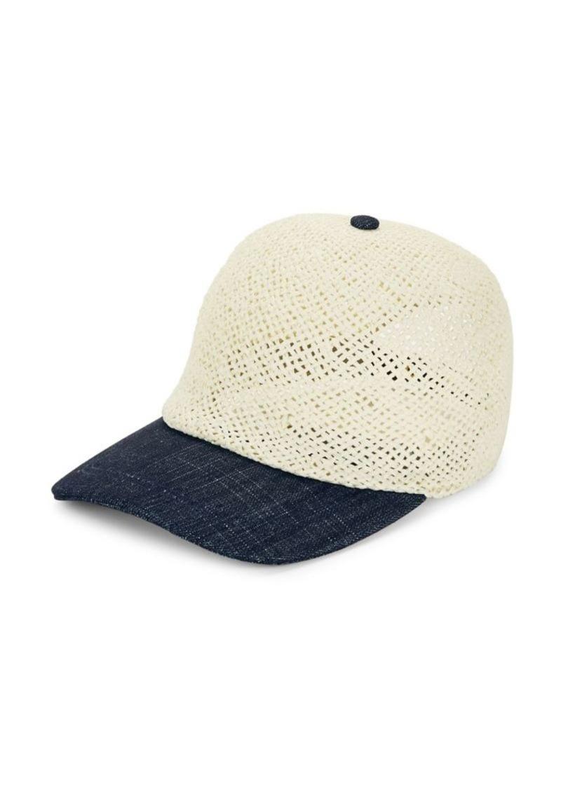 9826f008 Calvin Klein Calvin Klein Straw Baseball Cap Now $12.97