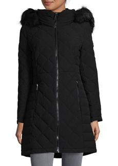 Calvin Klein Stretch Down Hooded Jacket