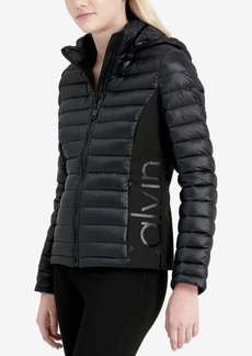 Calvin Klein Stretch-Side Puffer Coat