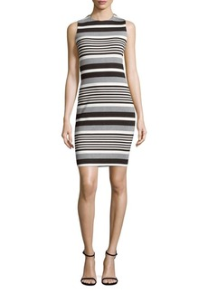 Calvin Klein Stripe Bodycon Dress