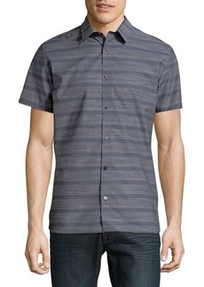 Calvin Klein Stripe Button-Down Shirt